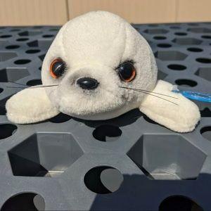 "Sea World White Seal 9"" Plush Stuffed Animal Toy"